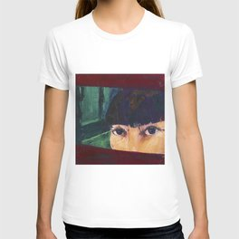 AT THE WINDOW T-shirt