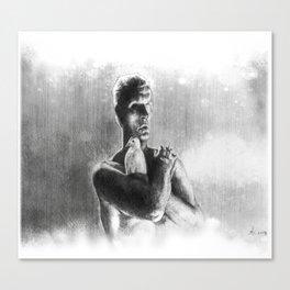 Tears, in rain Canvas Print