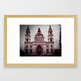 St Stephens Basilica, Budapest Framed Art Print