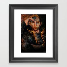 Anders Framed Art Print