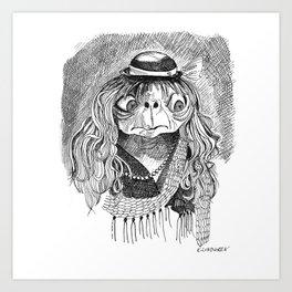 E.T Play House Art Print