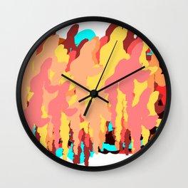 City civilization Wall Clock