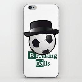 Breaking Bad parody: breaking balls iPhone Skin