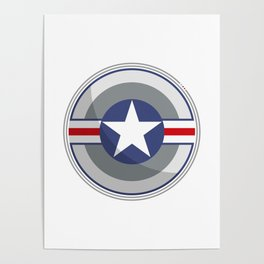 A Fictitious Shield Poster