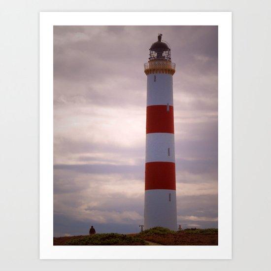 Tarbat Ness Lighthouse Art Print