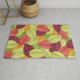 Let the Leaves Fall #11 Rug