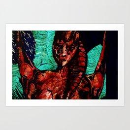 a spirit Art Print