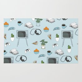 Friday Night Party {for introverts} Rug