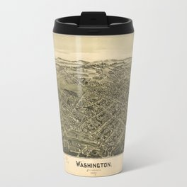 Aerial View of Washington, Pennsylvania (1897) Travel Mug