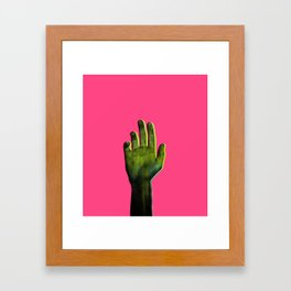 Hello Out There Framed Art Print
