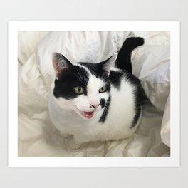 Happy Chappy Art Print
