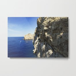 The Way To Neptune's Cave, Sardinia Metal Print