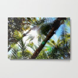 Livin' the Palm Life Metal Print