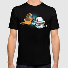 Daft Duck Mens Fitted Tee Black 2X-LARGE