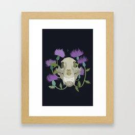 Reticent Framed Art Print