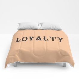 LOYALTY Comforters