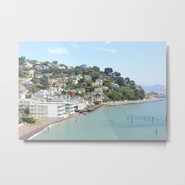 Sausalito, California Metal Print