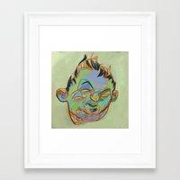 sketch Framed Art Prints featuring Sketch by robotrake