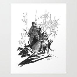 N&J  Art Print
