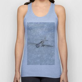 P-51 Mustang Fighter Unisex Tank Top