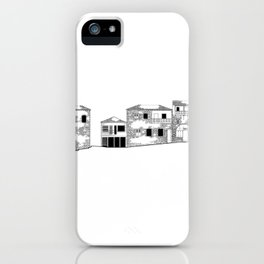Traditional Settlement iPhone Case
