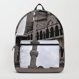 Blue Mosque Facade, Istanbul Turkey Backpack