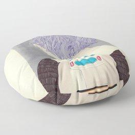 Wet Hair Floor Pillow