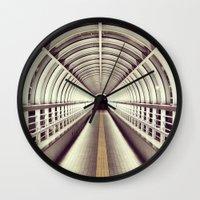 bridge Wall Clocks featuring Bridge by BarWy