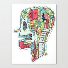 Illustrator to the Bone Canvas Print