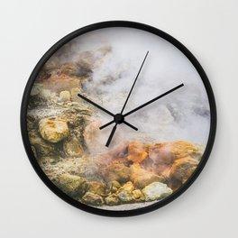 Volcano, Italy Wall Clock