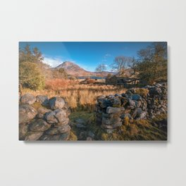 The Errigal Mountain , Co Donegal , Ireland Metal Print