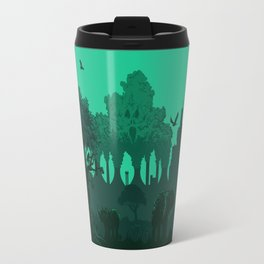 Polluted Earth Travel Mug