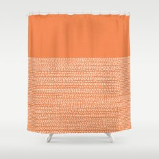 Riverside - Celosia Orange Shower Curtain