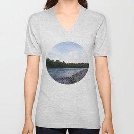 River Calgary Unisex V-Neck