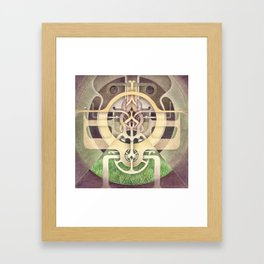 Composition III Framed Art Print