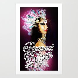 Queen of the Damned Art Print