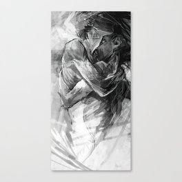 Lovers no.1 Canvas Print