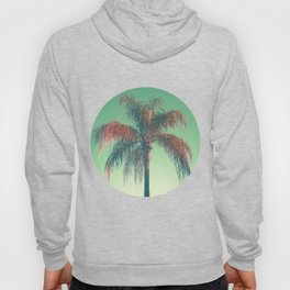 Red palm tree Hoody