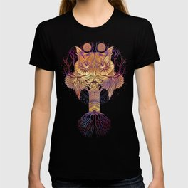 Owl Mandala T-shirt