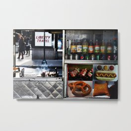 Vendor Metal Print