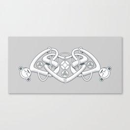 Celtic Triple Heart Canvas Print