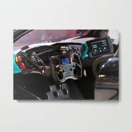 Citroën Survolt Panel Details Metal Print