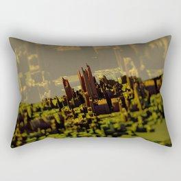 Morning city landscape Rectangular Pillow