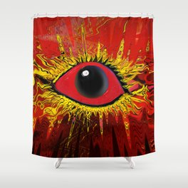 RojOjo Shower Curtain