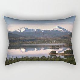 Road Trip Through The Rocky Mountains in Colorado Rectangular Pillow