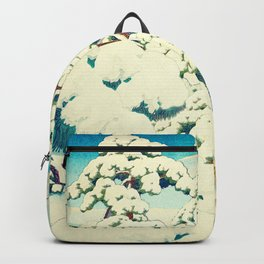 A Morning in the Snow Backpack