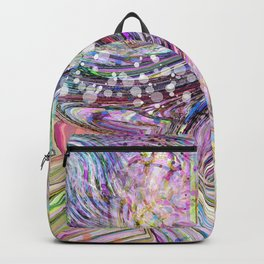 RAINBOW IN A BLENDER ABSRACT Backpack