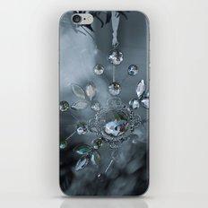 snowflake monochrome iPhone & iPod Skin