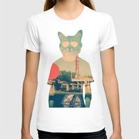 ali T-shirts featuring Cool Cat by Ali GULEC