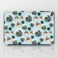 succulents iPad Cases featuring Succulents by Sofia Kraushaar
